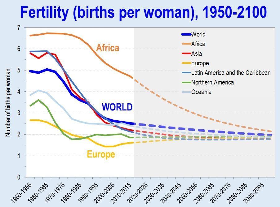 Image result for global population decline
